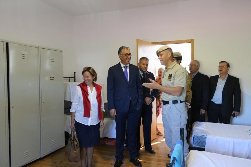 PAREDES - INAUGURADO QUARTEL DO GIPS EM BALTAR